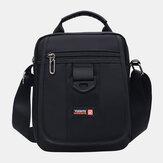Hommes mode grande capacité sac à bandoulière Messenger Bag