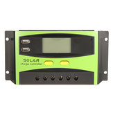 20A 12V / 24V Auto Wind Solar Controlador de carga de energía LCD Pantalla Mejoras para el hogar