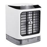 LED 480 mL Kişisel Evaporatif Hava Soğutucu Nemlendirici Taşınabilir Klima sis Namaz USB Soğutucu Fan