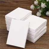 10 pcs Mini Stretched Artists Canvas Small Art Board Acrylic Oil Paint