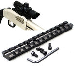 KALOAD D0020 Weaver Picatinny Rail 20mm Hunting Scope Mount For Shortgun 13 Slots Mossberg 500 590 835 T01 C