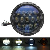 7 Inch 10000LM Round LED 150W Headlights Lamp Hi/Low Beam DRL For Harley/JEEP JK TJ LJ Wrangler