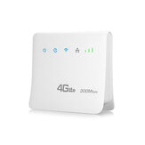 4G 300Mbps WiFi Router LTE CPE Mobile Router Support SIM Card Wireless Router Hotspot Portable Wireless Router