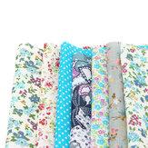 50 * 50 cm 7 PCS coton tissu tissu couture patchwork poupée artisanat vêtements bricolage