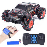 1:16 RQ2077 Four-Wheel Drive Gesture Sensing Dual RC Light Music Dancing 360 ° Rotating Off-Road Climbing RC Car