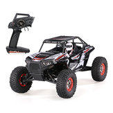 Wltoys 10428-B2 1/10 2.4G 4WD 40km / h Racing Rc Car Rock Crawler Off-Road Truck RTR Zabawka
