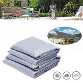 Rectangle Sun Shade Voile Jardin Auvent Auvent Auvent Solaire UV Block Camping En Plein Air