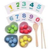 Çocuk Montessori Eğitim Matematik Oyuncaklar Klip Boncuk Uygulama Çubuklarını Çocuk Hediyeler