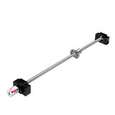 Machifit SFU1204 500mm Ball Screw+1204 Ball Nut+BK/BF10 End Supports+6.35x10mm Coupler