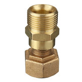 M22 to M22 Coupling Connector Brass Pressure Washer Hose Adapter