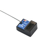 FlySky FS-BS6 2.4GHz 6CH AFHDS 2A RC Receiver PWM Output with Gyroscope Function for RC Car Boat