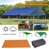 300x300cm Outdoor Camping Tent Sunshade Rain Sun UV Beach Canopy Awning Shelter Beach Picnic Mat Ground Pad Tent Sunshade