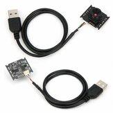 HBV-W202012HD Módulo de câmera USB HD Interface USB para WinXP / Win7 / Win8 / Win 10 / OS X / L inux / Android 1280x720P