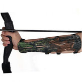Archery Freccia Bow Shooting Camouflage 4 Strap Regolabile Ultra Long Arm Guard Protector