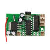 WPL Için 1 Adet Alıcı Kurulu B1 B16 B24 B36 C14 C24 1/16 Rc Araba Parçaları Orijinal Motor Ses Sistemi