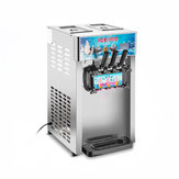 220V 1200W 3 Flavour Commercial Frozen Ice Cream Cones Machine Zachte Ice Cream Machine