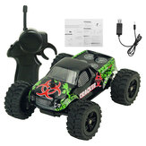 9115 M 1/32 2.4G 2WD 4CH Mini Hoge Snelheid Radio RC Racewagen Rock Crawler Off-Road Truck Speelgoed