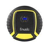 Enusic™LCDディスプレイタイヤインフレーター空気圧コンプレッサーポンプ35L /分100W / 120W / 150W LEDライト付きオートバイバイク自動車SUVバスケットボール