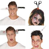 Halloween  Horror Headband Decoration Scary Knife Halloween Accessories Props Halloween Party Supplies Event Party Decor