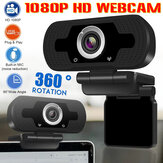 1080P HD Webcam Desktop Laptop Computer PC Kamera Eingebaute Mikrofon-Aufsteckkamera
