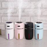 جهاز ترطيب الهواء بالموجات فوق الصوتية الصغير لسطح المكتب مع اللون أضواء USB Charing لتنقية الهواء منخفضة الضوضاء للمنزل غرفة نوم مكتب سيارة