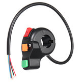 7/8 inch 22mm Manípulo da motocicleta Controle Switch Light Horn Indicator