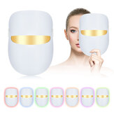 LED Colorful Face Mask Beauty Instrument Bright White Photon Skin Rejuvenation Instrument Household Facial Spectrum Mask