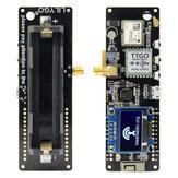 LILYGO® TTGO Meshtastic T-Beam V1.1 ESP32 868Mhz WiFi Bluetooth ESP32 GPS NEO-6M SMA 18650 Bateria Suporte com OLED