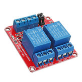 5 stuks 5V 2-kanaals trigger optocoupler relaismodule