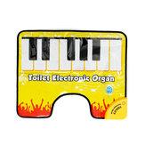 Dokunmatik Oynamak Klavye Müzik Şarkı Tuvalet Halı Mat Erişkin Çocuk Eğlenceli Rahat Dekompresyon Oyuncak Piyano battaniye
