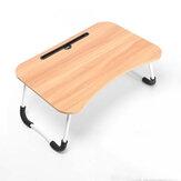 Портативный складной стол для ноутбука, складной столик с гнездом для телефона, подстаканник, ленивая кровать, рабочий стол