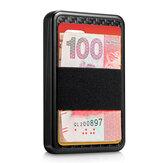 NewBring RFID Blocage Porte-Carte Blocage Portefeuille Coulissant En Aluminium En Plastique Carte Porte-monnaie En Fiber De Carbone Stockage