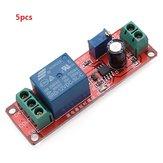 5pcs Delay Timer Switch 0-10sec réglable avec NE555 entrée électrique 12V 10A