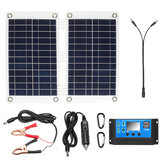 Solar Power Panel Charger Solar Panel Kit Polysilicon Solar Charge Controllerrel