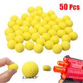 50 stks 2.3 cm PU Drijfvermogen Rondes Kogelballen Kids Toy Ball voor Hunting Garden