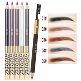 5 Colors Double Head Eyebrow Pen Brushes Makeup Tools