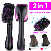 2 In 1 One Step Hair Dryer Styler Hair Comb Negative Ion