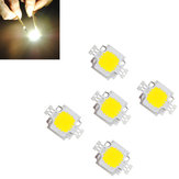 5pcs 10W 900LM White High Bright LED Light Lamp Chip DC 9-12V