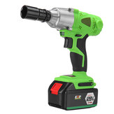 98VF/128VF/168VF/188VF Adjustable Cordless Brushless Electric Impact Wrench Screwdriver Drill LED Light With 1 Battery 1 Charger