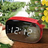 LED FM Radio Digital Alarm Clock dengan Sleep Timer Snooze Fuction Compact Digital Modern Design Table Clock