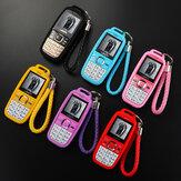 MAFAM D22 1.77 pulgadas 1800mAh Mini tarjeta de teléfono para niños con BT Dial Linterna Altavoz más fuerte Tarjeta SIM dual Teléfono con función de espera dual