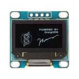 3Pcs 0,96 Zoll 4Pin Weiß IIC I2C OLED Anzeigemodul 12864 LED Geekcreit für Arduino - Produkte, die mit offiziellen Arduino-Karten funktionieren