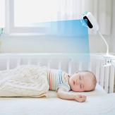 Xiaovv C1 1080P Câmera IP WIFI H.265 Monitor de bebês bebês 2MP 150 ° Super Wide Angle Baby Sleep Care Alarme a chorar Push Câmera IP de áudio bidirecional