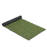 Decorazione artificiale della pavimentazione del giardino del prato inglese delle piante sintetiche del tappeto erboso del prato inglese