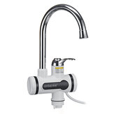 360° Electric Instant Faucet Tap Hot Water Heater LCD Display Kitchen Fast Heat Faucet