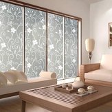 45 * 200 cm Waterdicht Frosted Badkamer Vensterglas Film Stickers Decoraties