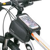 ROSWHEEL 5.7 inch Touch Screen Bike Phone Pouch Waterproof MTB Road Bike Cycling Top Frame Tube Bag