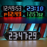 Geekcreit® DS3231 Vysoce přesná multifunkční LED Dot Matrix Animation Effects Clock DIY Kit
