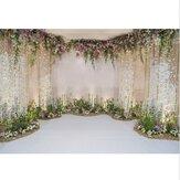Flowers Wall Scene Wedding Photography Background Studio Props Backdrops 1.5x2.1m/2.1x2.1m/2.7x2.7/0.9x1.5m