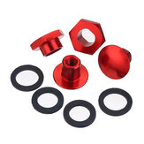 Rød bagrude forrude Glasstiver Hardware Kit til Honda Civic Hatchback 1992-1995 CRV 1997-2001